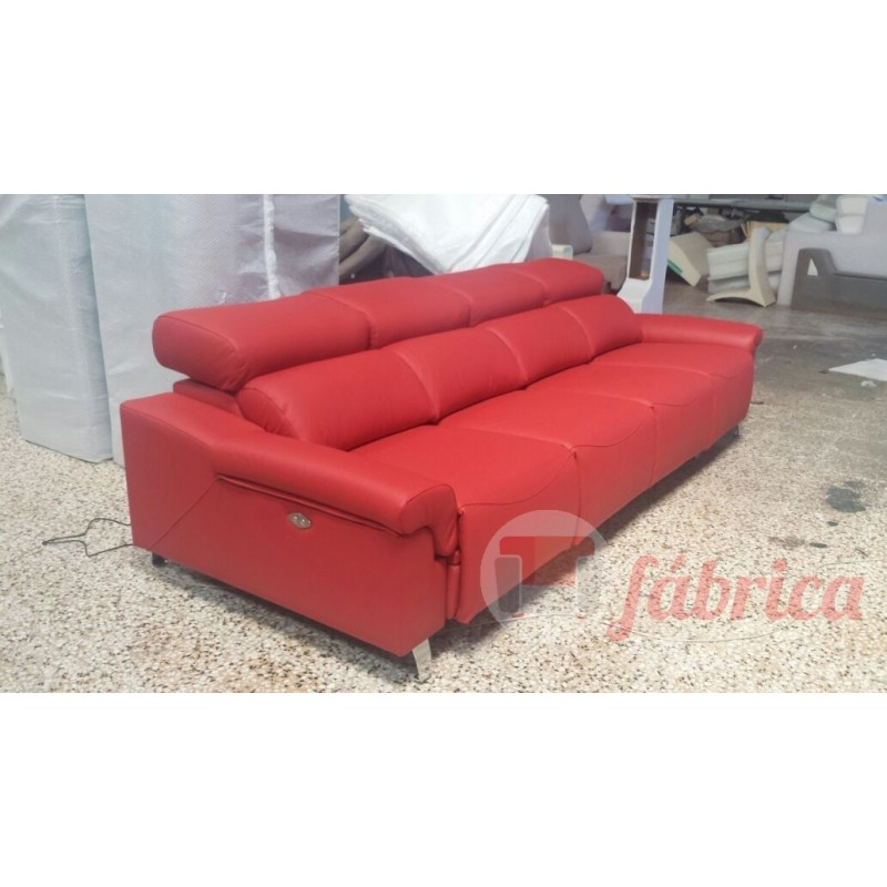 Relax altea piel fabrica sofas for Fabrica de sillones relax