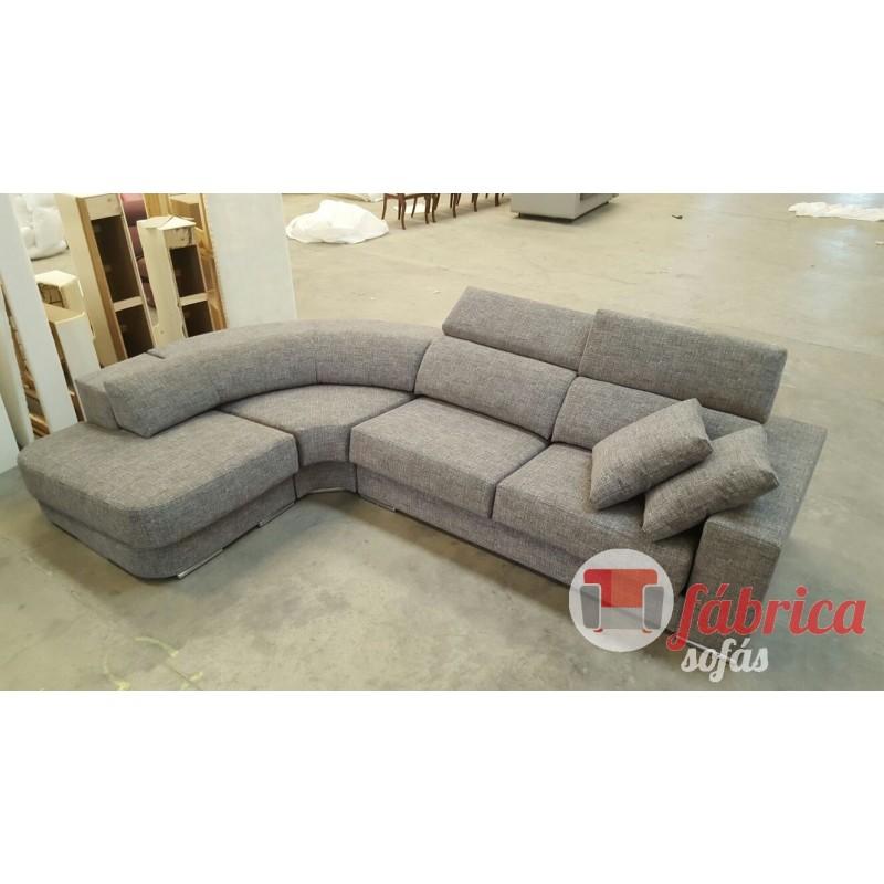 Rinconera luna con terminal redondo fabrica sofas for Sofas de rinconera baratos