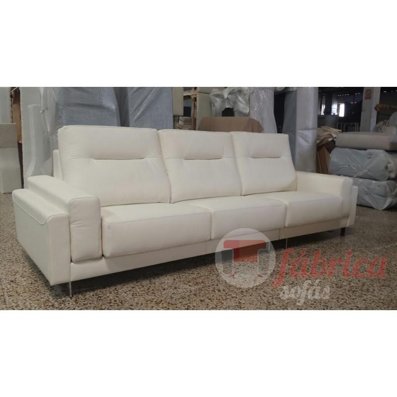 Duo en piel fabrica sofas - Tapizar sofa de piel ...