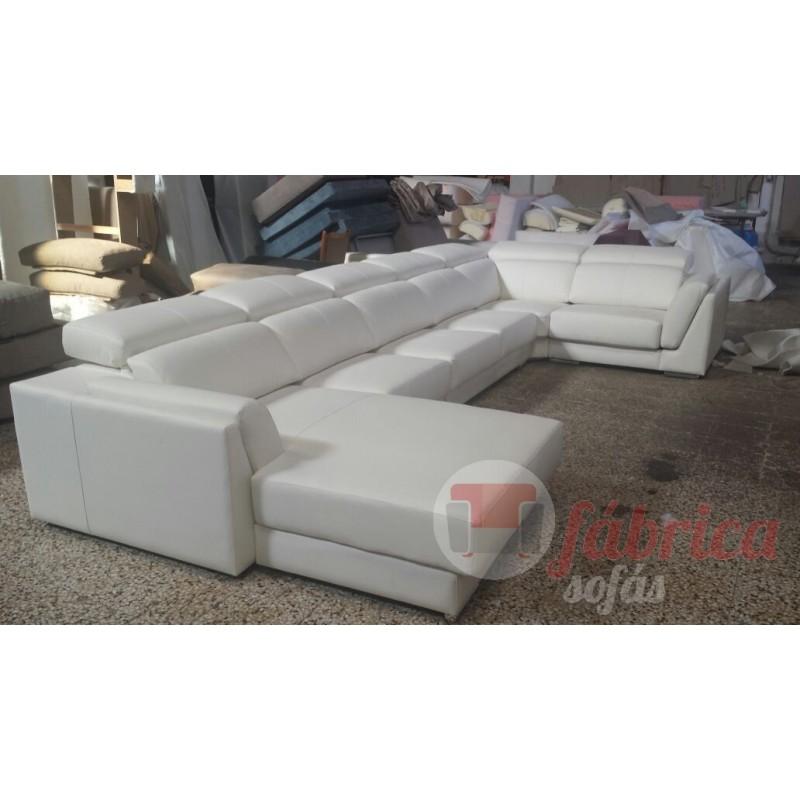 Rinconera lucca piel fabrica sofas for Sofas alicante liquidacion