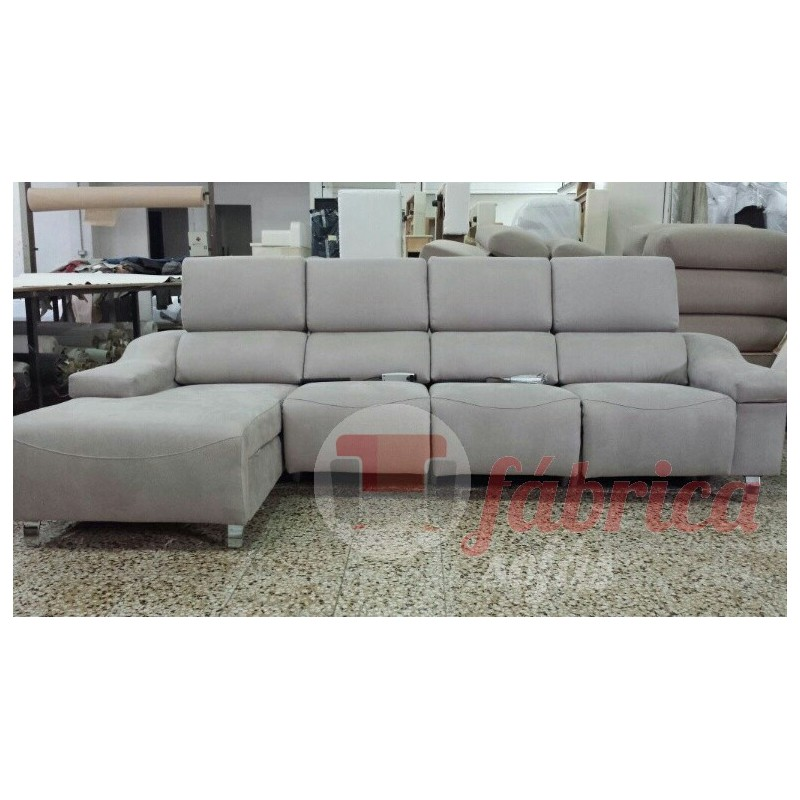 Relax cristina fabrica sofas for Sofa 4 plazas mas chaise longue
