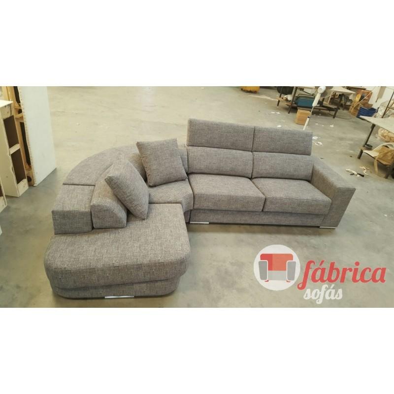 Rinconera luna con terminal redondo fabrica sofas for Sofas alicante liquidacion